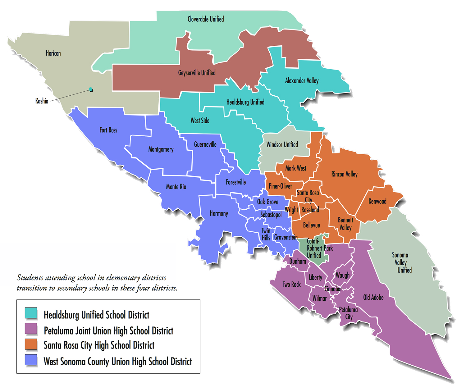 Information & Links For All Nine Of Sonoma County\'s Schools And ...