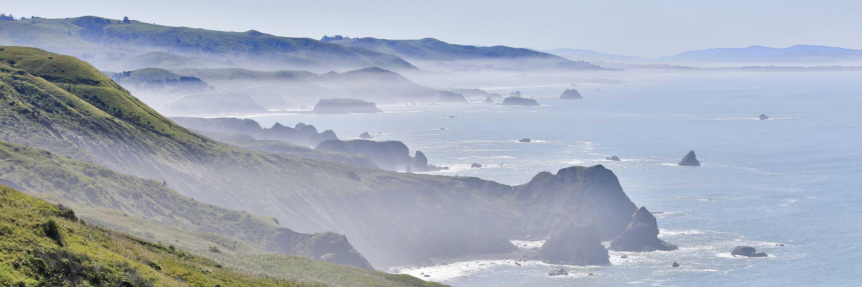 Picture of coastline