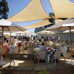 Picture of fundraising event for The Living Room,