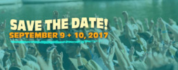 Save The Date September 9-10, 2017