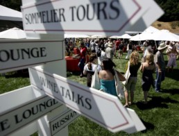 Picture of directional signs